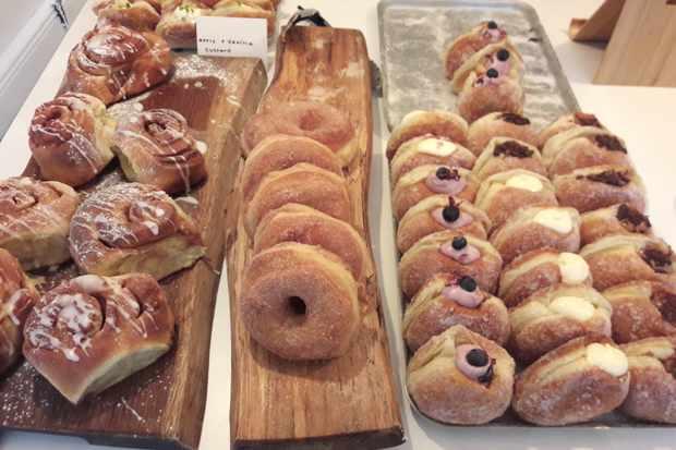 Doughnuts at Eve's Kitchen, Sheffield