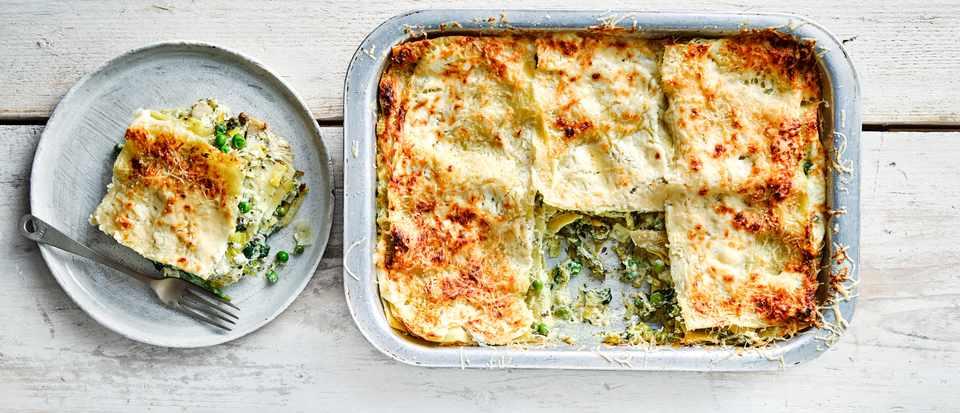 Vegetable Lasagne Recipe with Pesto