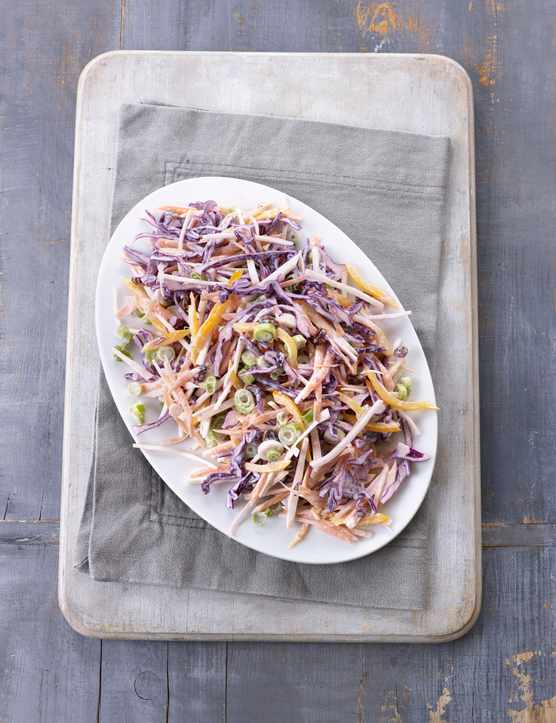 Rainbow Coleslaw Recipe