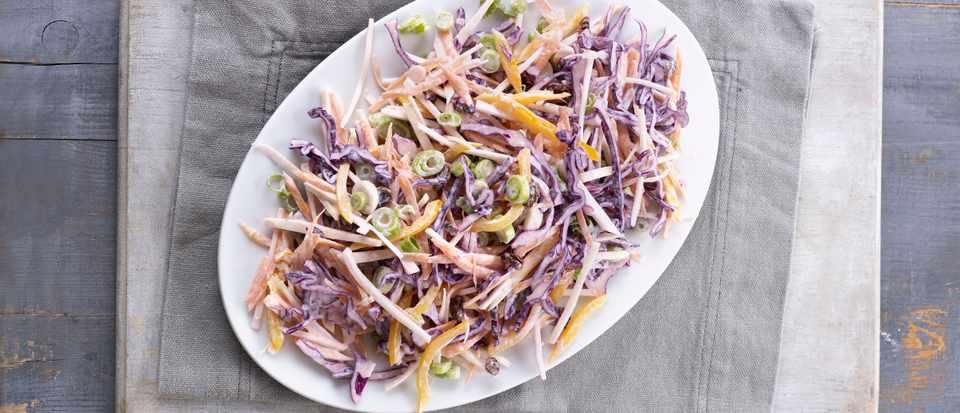 Rainbow Coleslaw Recipe