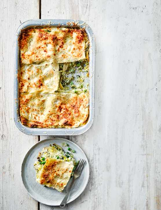 Vegetable Lasagne Recipe with Pesto