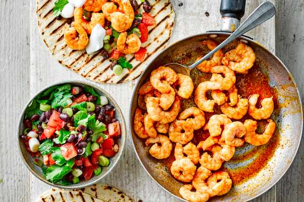 Prawn Tacos Recipe