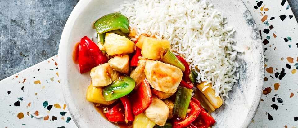 Healthy Sweet and Sour Chicken Recipe