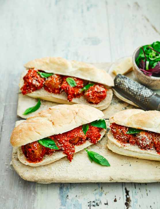 Turkey Meatball Sandwich Recipe