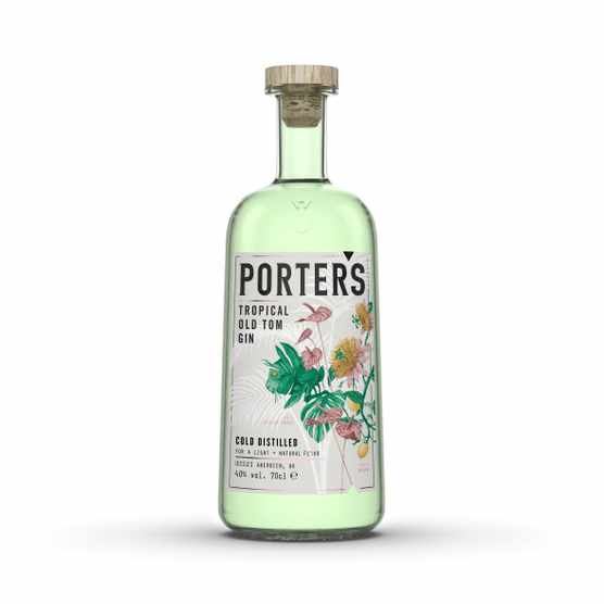 Porters Gin Old Tom Tropical Scottish Gin