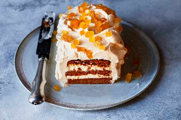 Rum and Ginger Cake Recipe with Salted Caramel