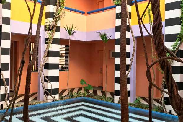 Camille Walalas Vibrant Interiors at Salt, Mauritius