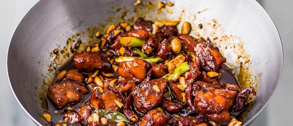Kung Pao Chicken Recipe with Caramel