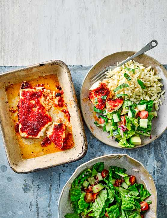 Baked Feta Recipe with Chilli Jam