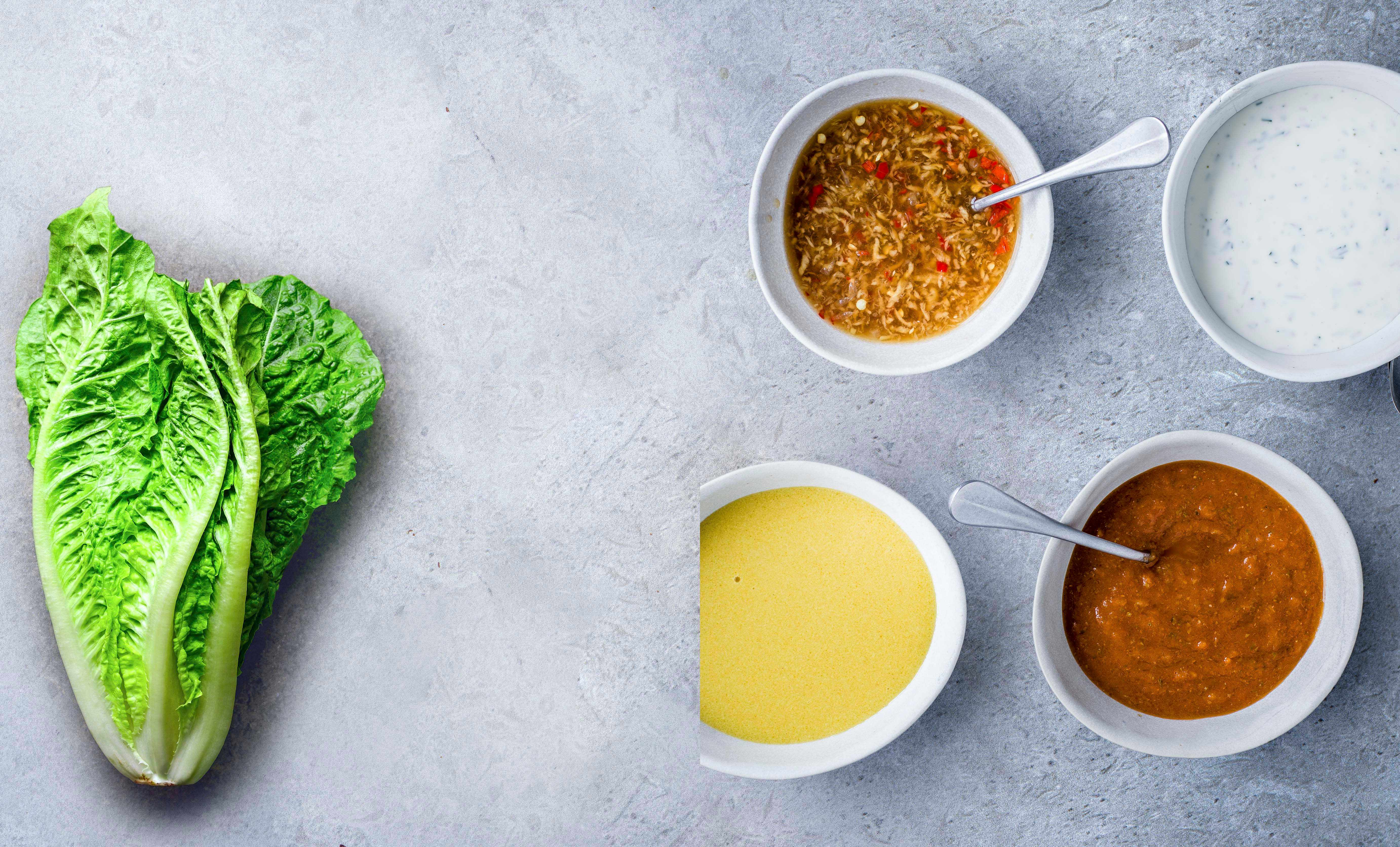 4 Quick and Easy Salad Dressings