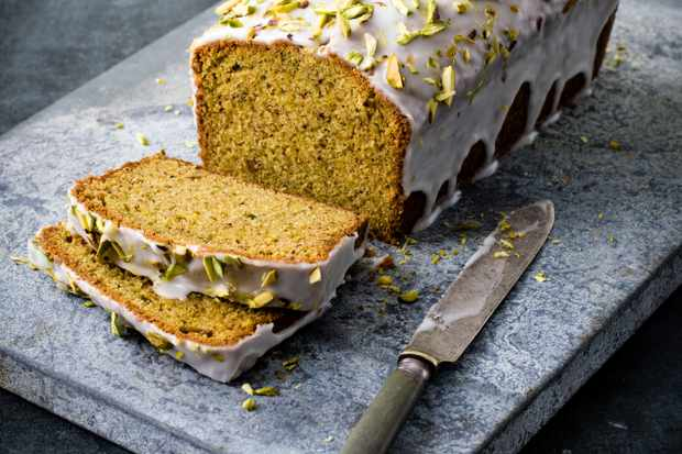 Lime and Pistachio Cake Recipe