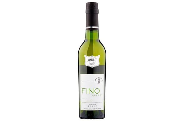 A bottle of fino sherry