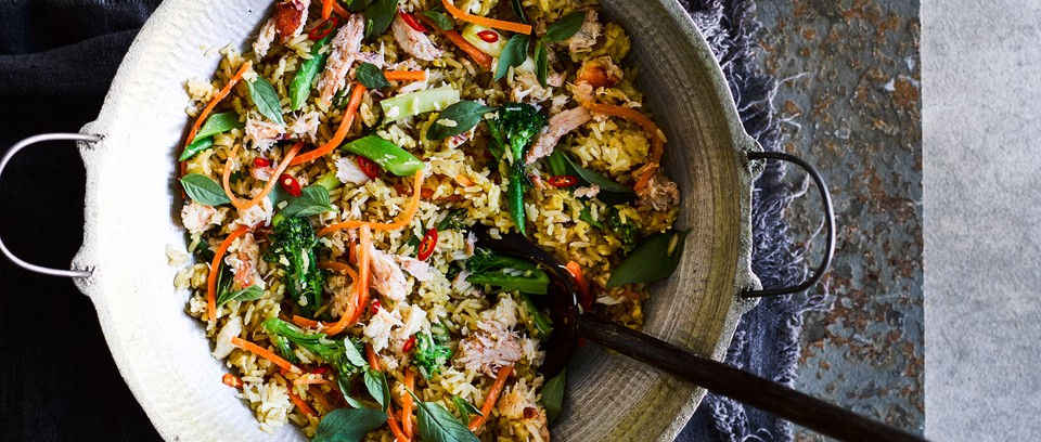 Thai Fried Rice Recipe With Crab And Prik Nam Pla Olivemagazine