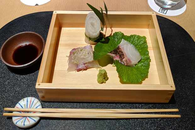 Kaiseki dinner at Myojinkan Matsumoto