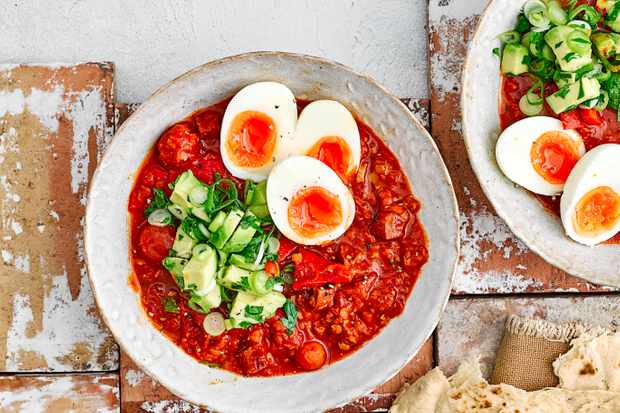Chorizo and Eggs Recipe