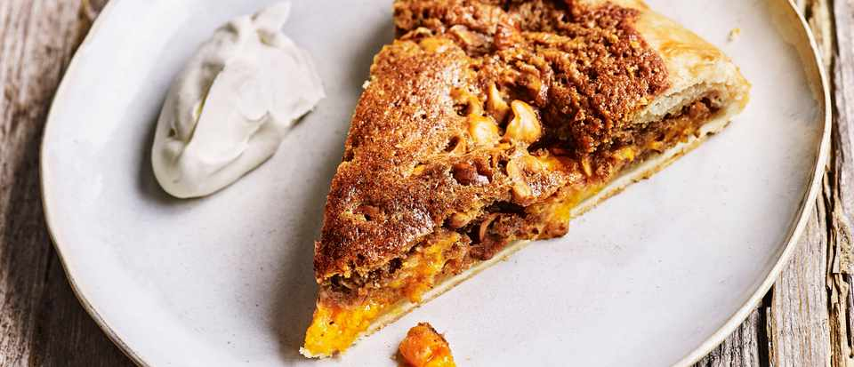 Galette Recipe with Hazelnut Frangipane and Apricots