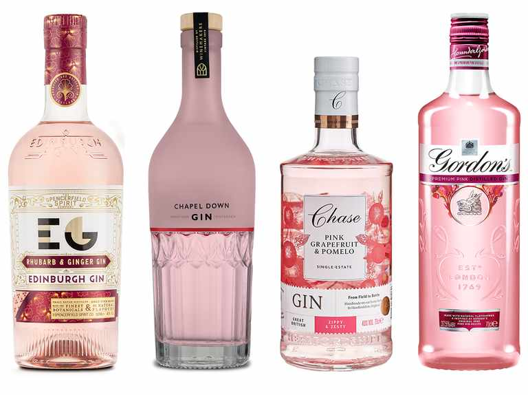 Best pink gin taste test