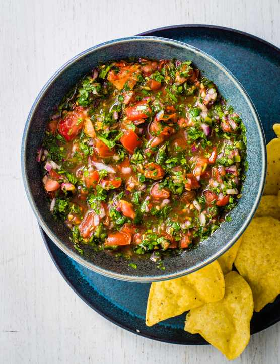 Best Tomato Salsa With How To Video