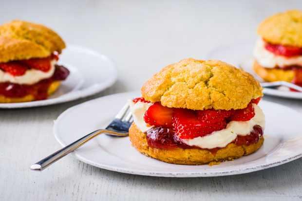 """Recette de sablés aux fraises """"title ="""" Recette de sablés aux fraises """"/> <body></p> <p><strong><em> Essayez ce sablé aux fraises puis consultez <a href="""