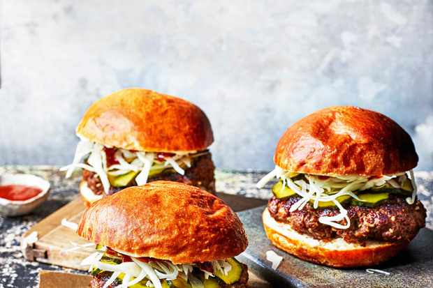 Korean Burger Recipe For Bulgogi Burgers with Gochujang