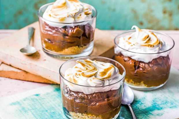 Chocolate Pot Recipe with Salted Caramel