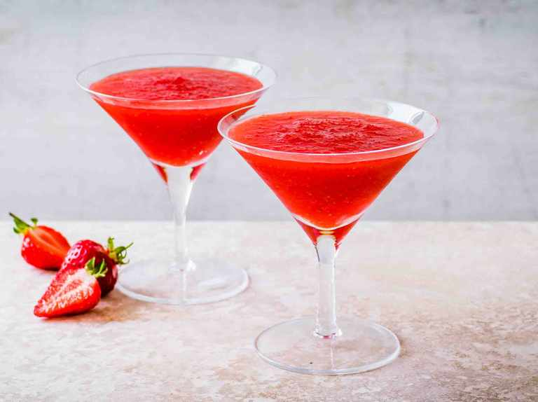 Strawberry Daiquiri Recipe Olivemagazine