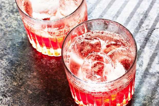 Negroni Sbagliato Cocktail Recipe with Rosé Wine