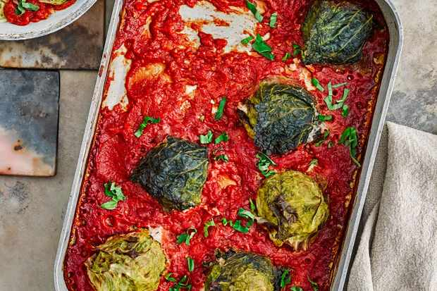 Pork Stuffed Cabbage Recipe
