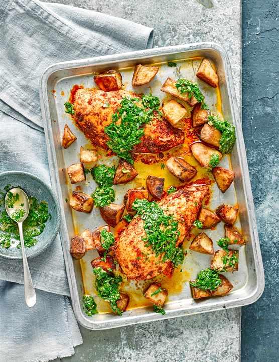 Chicken Kiev Recipe Chicken Traybake