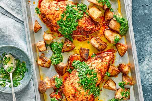 Chicken Kiev Recipe Chicken Traybake