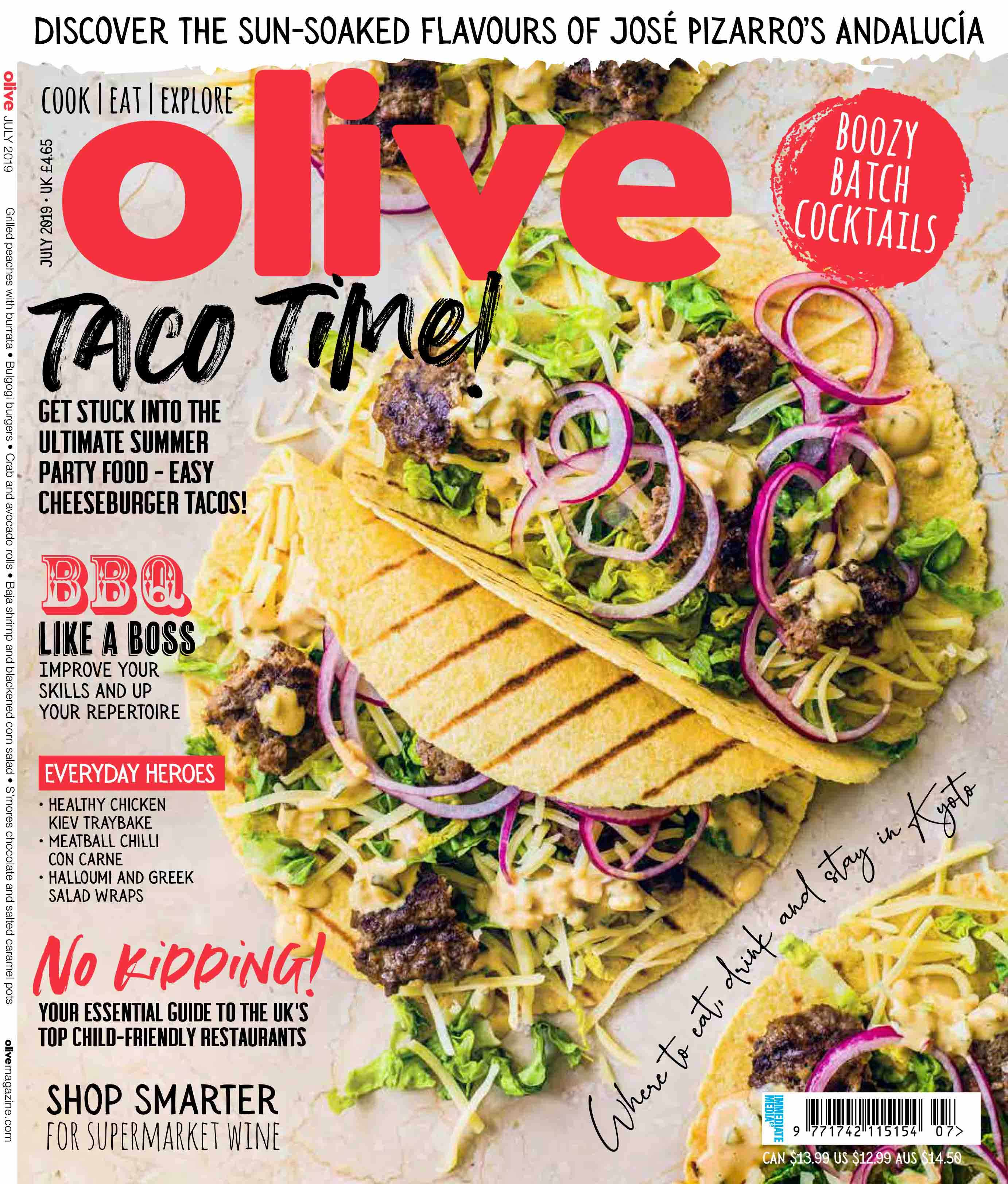 Subscribe to olive magazine July offer and discount
