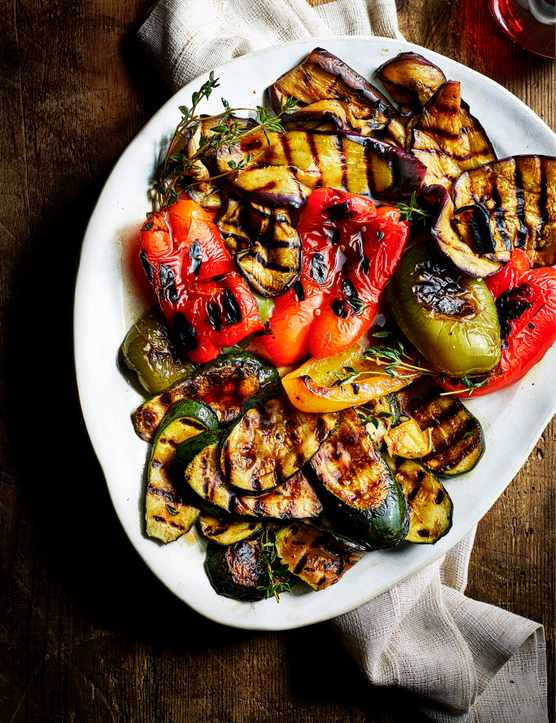 Grilled Vegetable Antipasti Recipe