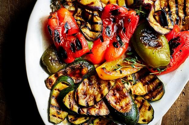 Grilled Vegetable Antipasti Recipe