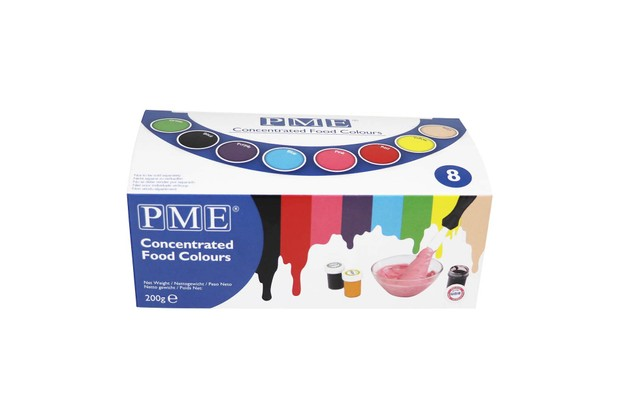 PME Paste Colours for Icing