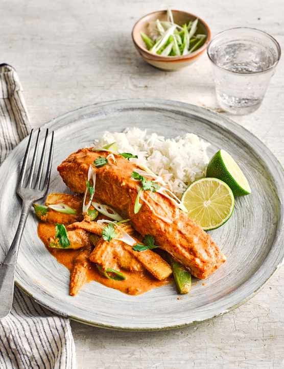 Thai Salmon Parcels Recipe