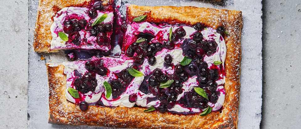 Blueberry Mascarpone Tart Recipe