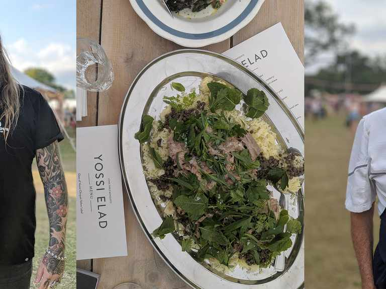 ep 164 – Wilderness Festival chefs special with Andrew Clarke and Yossi Elad