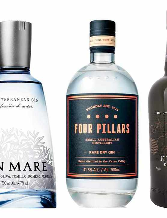 5 bottles of gin from around the world