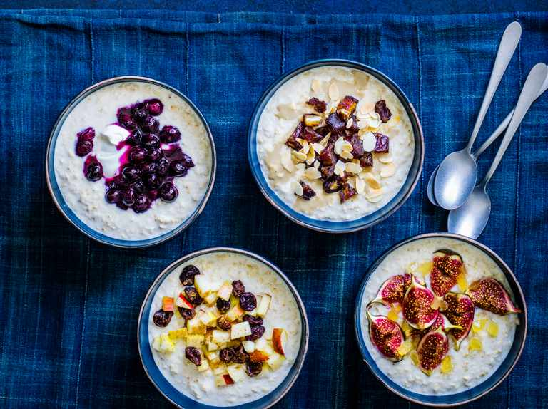 Quick and easy porridge toppers