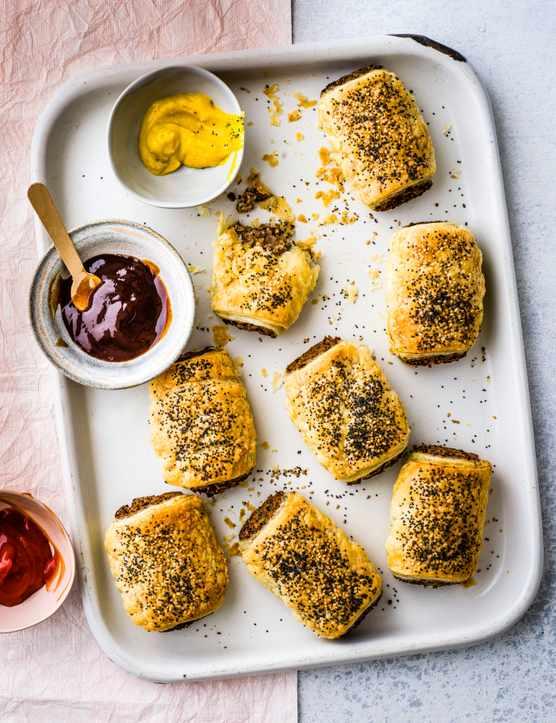 Homemade Vegan Mushroom Sausage Rolls Recipe