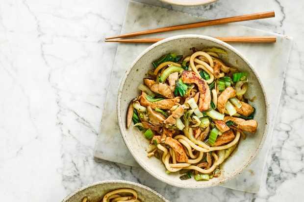 Shanghai Noodles Recipe with Pork