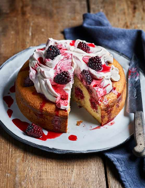 Blackberry and Yogurt Cake Recipe