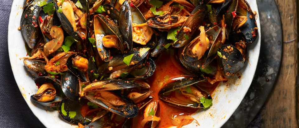 Easy Mussels Recipe with 'Nduja