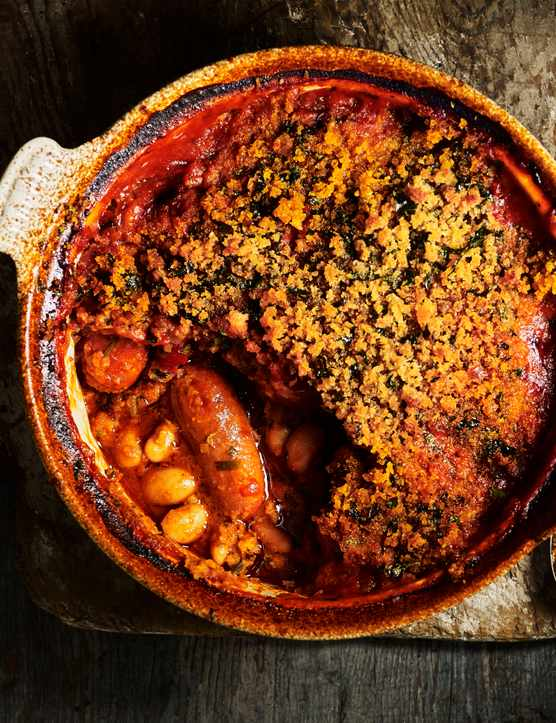 Chorizo White Bean Cassoulet Recipe