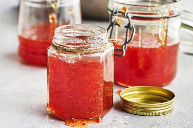 Hot Red Pepper Jelly Recipe