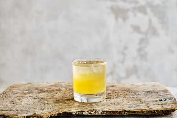 Sake Cider Fizz Recipe