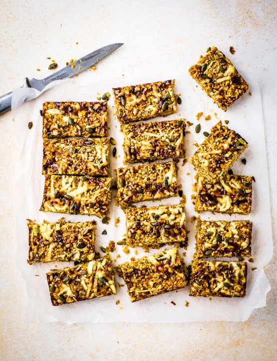 Cheese Flapjacks Recipe with Marmite