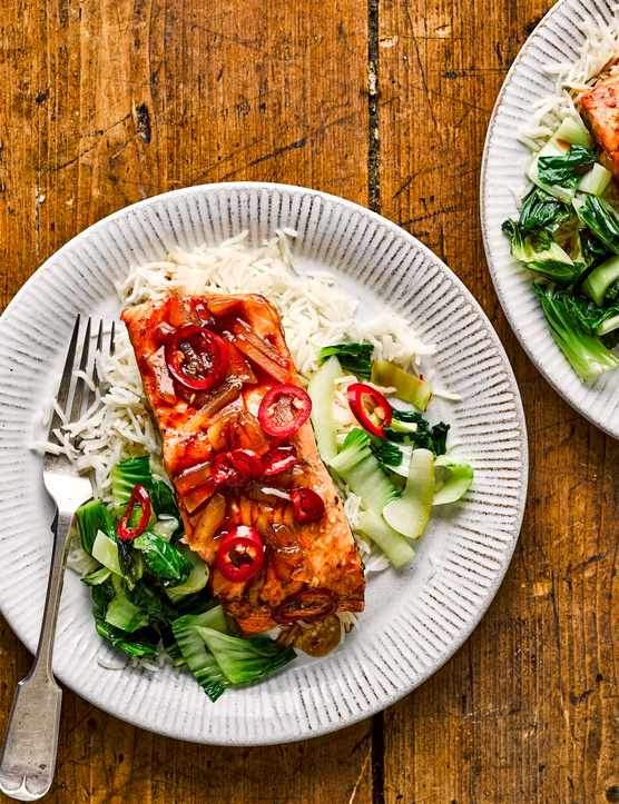 Soy and Ginger Salmon Recipe