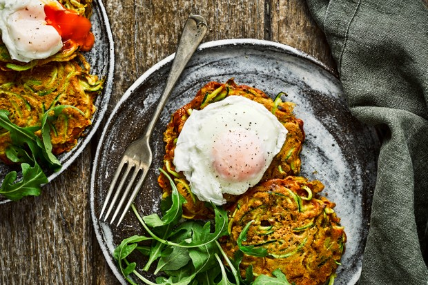 Easy Courgette Fritters Recipe