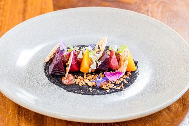 Colourful beetroot dish at Sage Midleton Ireland